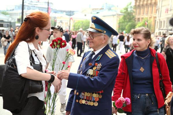 День Победы. Москва 9 мая 2009 года. Фото: Анатолий Белов/Великая Эпоха