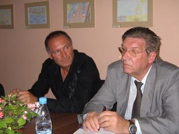 В. Янковский и А. Пониделко. Фото: Кира Иванова/ВеликаяЭпоха