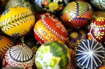 крашеные яйца На Пасху.Фото:Getty Images