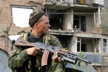 Исполнилось 10 лет начала второй чеченской войны. Фото: AFP