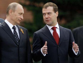Российская Федерация: За год правления президенту Медведеву не удалось исправить ситуацию в области прав человека. Фото: DMITRY ASTAKHOV/AFP/Getty Images