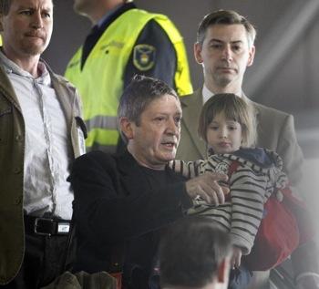 14 апреля в эропорту города Будапешт. Фото: FERENC ISZA/ AFP/Getty Images