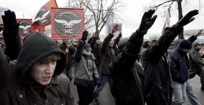 В Центре Москвы 2007 года. Фото: NATALIA KOLESNIKOVA /AFP /Getty Images
