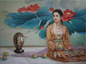 Одна из картин выставки «Истина-Доброта-Терпение - искусство, дарованное свыше»Фото с сайта выставки falunart.org