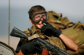 В российской армии имеет место