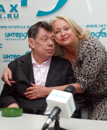 Николай Караченцов и Людмила Поргина. Фото: Юлия Цигун/Великая Эпоха