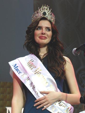 Победительница столичного конкурса красоты