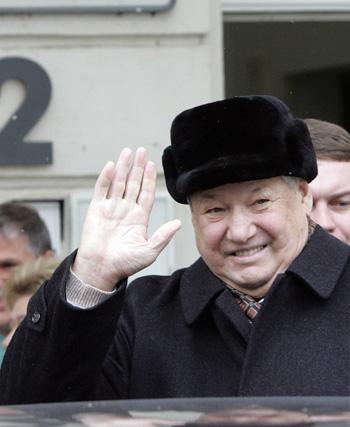 Первый президент РФ Борис Николаевич Ельцин. Фото: MARCUS BRANDT/AFP/Getty Images