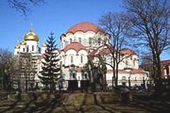 Новодевичий монастырь, Санкт-Петербург. Фото с sobory.ru
