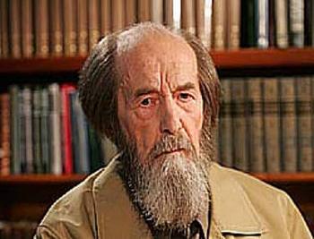 Александр Исаевич Солженицын (11.12.1918г. — 03.08.2008г.). Фото с ugreshlib.ru