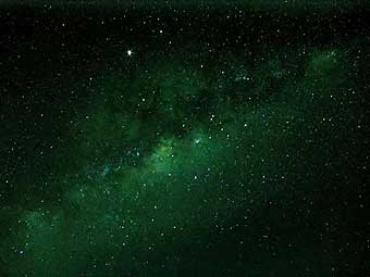 Центр Млечного Пути, вид с Земли. Фото lucasastronomy.wetpaint.com