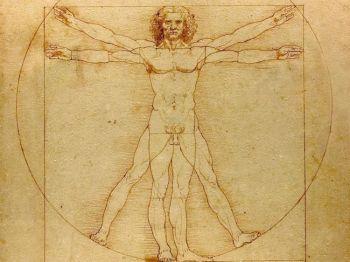 Всемирно известный эскиз Леонардо Да Винчи, воспевающий человеческое тело