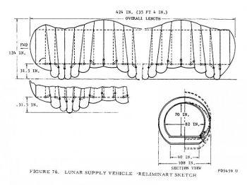 Многообещающий проект: в 1966 г. инженеры представил НАSА уникальную идею передвижения по Луне. Фото: NASA