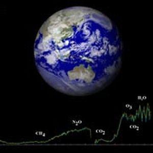 Изображение Земли – компьютерная симуляция. Иллюстрация JPL-NASA и ESA/VIRTIS/INAF-IASF/Obs. de Paris-LESIA