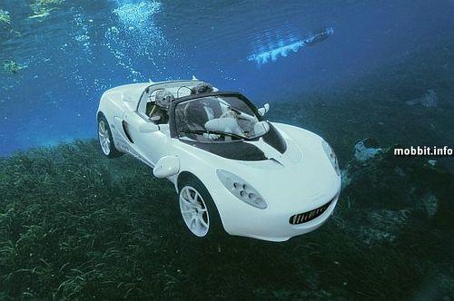 Подводный автомобиль sQuba. Фото с сайта mobbit.info