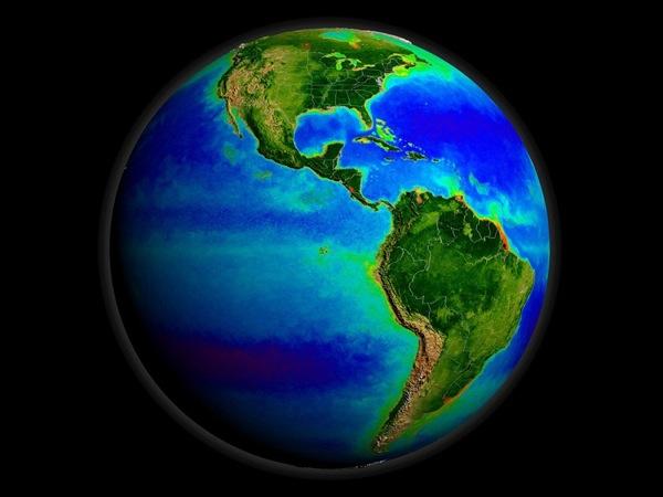 Земля. Фото NASA.