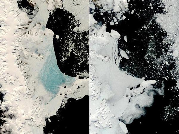 Антарктида. Фото NASA.