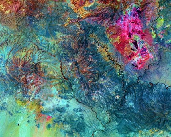 Аризона. Фото NASA.