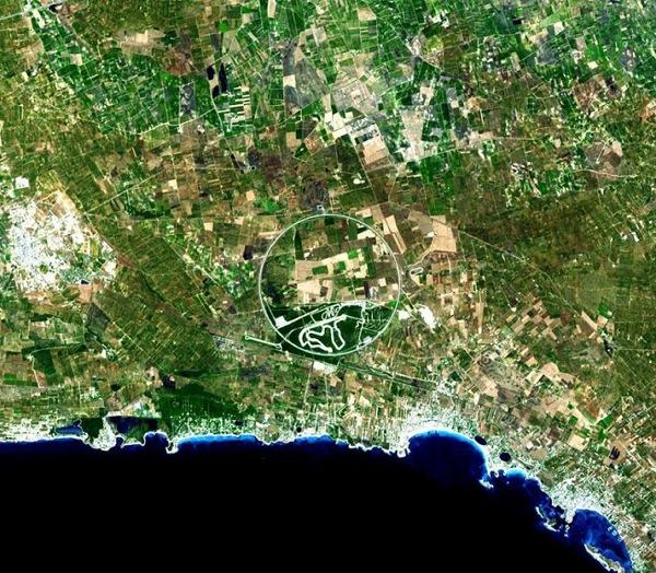 Италия. Фото NASA.