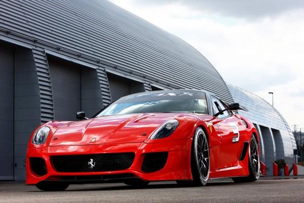 Новый спорткар Ferrari 599XX.Фото с etoday