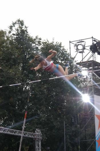 Исинбаева второй раз становится лучшей в Европе. Фото: Николая Зуева