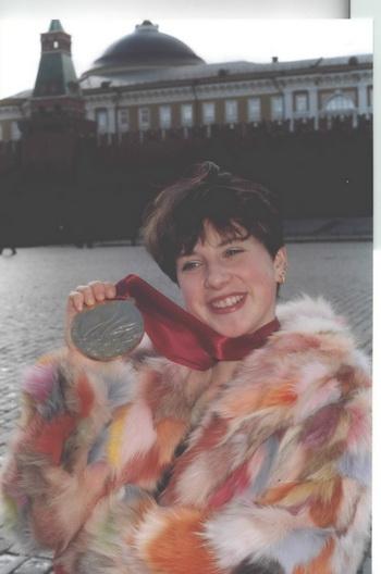 Призер олимпийских игр, двукратная чемпионка мира и семикратная - Европы, Ирина Слуцкая. Фото: Николай Зуев.
