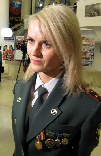Инна Саввон - семикратная чемпионка мира по каратэ и пятикратная чемпионка мира по таэквондо среди полицейских. Фото автора