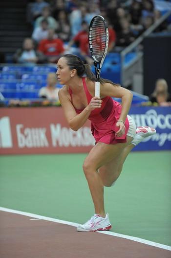 Победительница Кубка Кремля-2008 сербская теннисистка Елена Янкович. Фото Николая Зуева