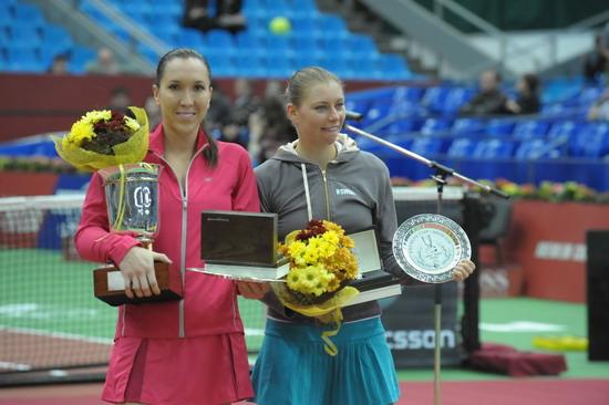 Елена Янкович и Вера Звонарёва. Фото Николая Зуева