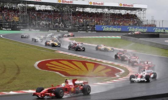 В Бразилии прошел заключительный этап чемпионата мира по автогонкам Формулы 1. Фото: MAURICIO LIMA/AFP/Getty Images