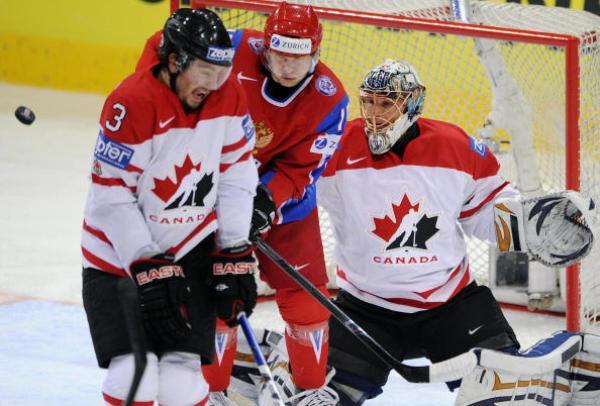 Сборная России выиграла чемпионат мира по хоккею. Фото: FABRICE COFFRINI/AFP/Getty Images