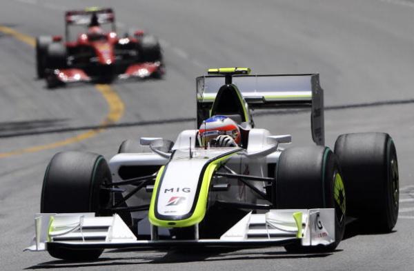 Рубенс Барикелло на Гран-при Монако. Фото: GERARD JULIEN/AFP/Getty Images