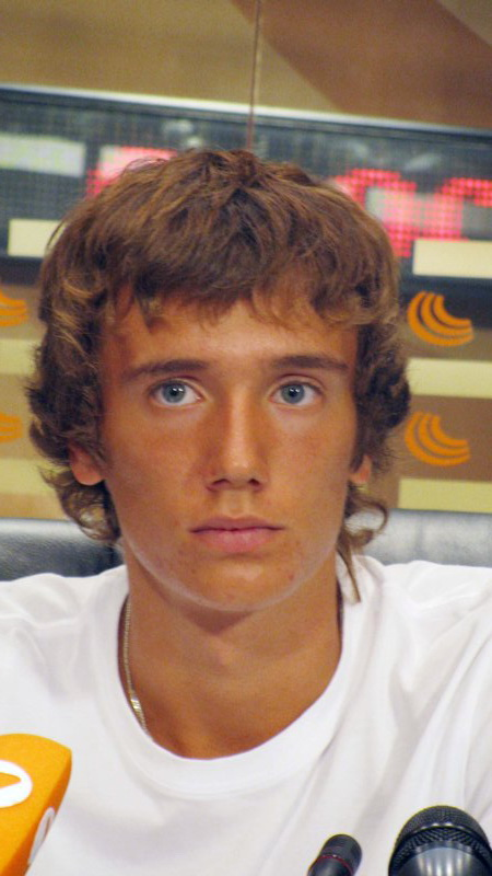 Звезда мирового тенниса Андрей Кузнецов. Фото: Николай Зуев
