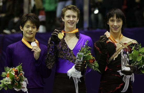 Такахико Козука (Япония), Джереми Эббот (США), Джонни Вейр (США). Фото: Chung Sung-Jun/Getty Images
