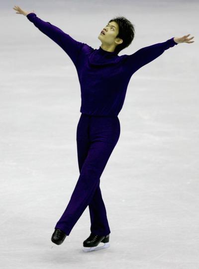 Такахико Козука (Япония) исполняет произвольную  программу. Фото: Chung Sung-Jun/Getty Images