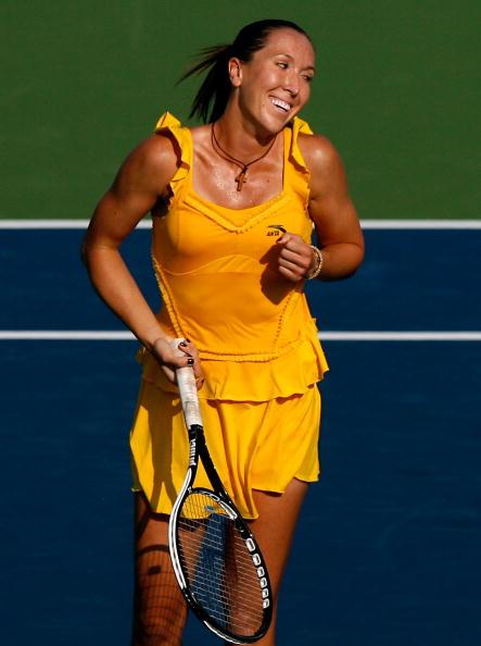 В финальном поединке Сафиной противостояла пятая ракетка мира Елена Янкович из Сербии.Фото:Kevin C. Cox/Getty Images