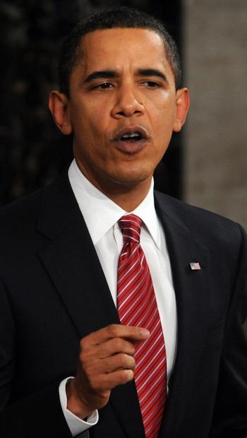Президент США Барак Обама. Фото: NICHOLAS KAMM/AFP/Getty Images