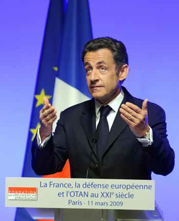 Николя Саркози.Фото:PHILIPPE WOJAZER/AFP