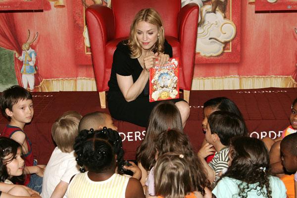 Мадонна на презентации детской книги. Фото:Dave Hogan/Getty Images