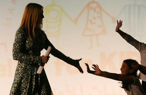 Мадонна на презентации детской книги. Фото:Heidi Levine/Getty Images