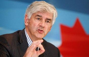 Канадский министр иностранных дел Лауренс Кеннон выступает во время пресс-конференции в Пекине. 12 мая 2009 г. Фото: Alfred Cheng Jin /Reuters