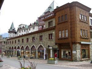 Badrutts Palace Hotel, первый дом на площади. Фото Тило Герке