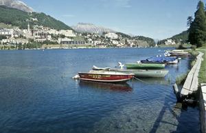 Озеро Санкт-Мориц: голубая вода на почти 2000-метровой высоте над уровнем моря. Фото Тило Герке