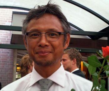Эдвин Ленце, 47 лет, учитель средней школы. Фото: Великая Эпоха