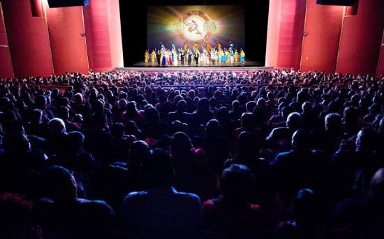 Заключительная сцена представления DPA в Вашингтоне. 16 февраля 2009 г. Фото: Дай Бин/The Epoch Times