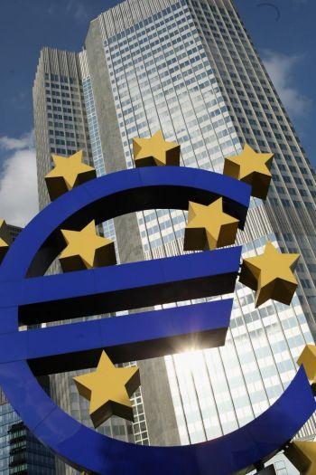 Франкфурт, Европейский Центральный Банк. Франкфуртская Фондовая биржа и несколько крупных банков образуют финансовый центр Германии. Фото: Ralph Orlowski/Getty Images