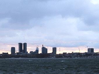 Панорама центра Таллина. Фото пользователя Zetrous с сайта wikipedia.org