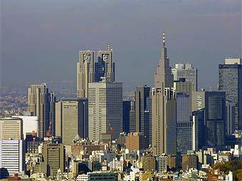 Вид на Токио. Фото с templetons.com