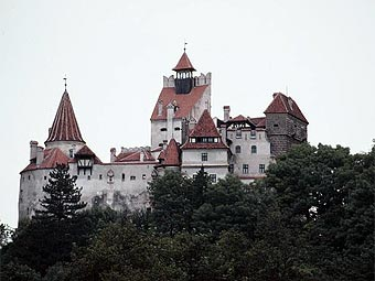 Замок Бран. Фото с sogonow.com