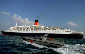 Сомалийские пираты попытались захватить круизный лайнер